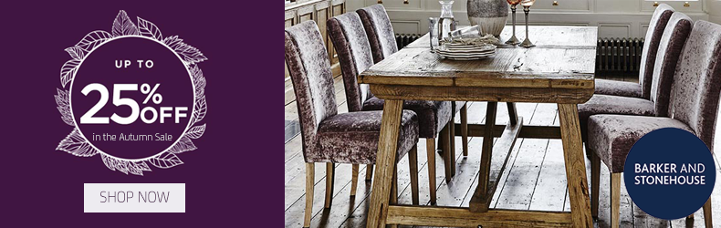 Barker and Stonehouse November sale