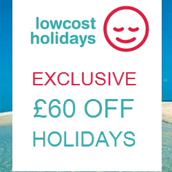 Low Cost Holidays July exclusive RHS