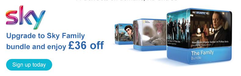 Sky November family package slider