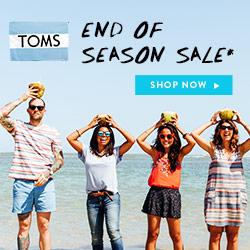 Toms end of season sale July RHS