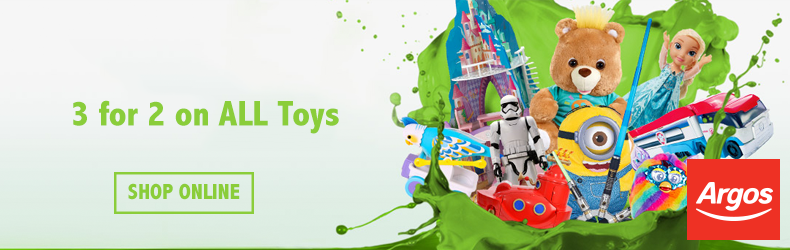 Argos toy offer September