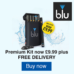 Blu E-Cig Premium pack November RHS