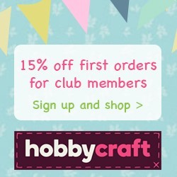 Hobbycraft First orders discount RHS
