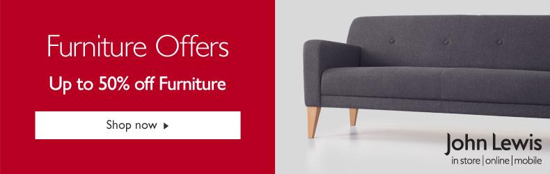 John Lewis furniture July offer