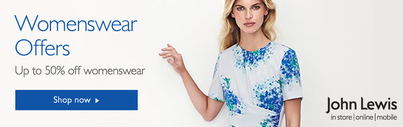 John Lewis Womens fashion August offers