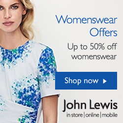 John Lewis womens fashion offers August