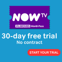 Now TV Movie trial offer RHS