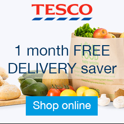 Tesco Groceries delivery code