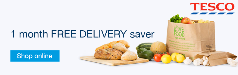 Tesco Delivery saver January