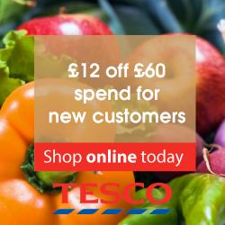 Tesco Groceries May code RHS