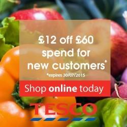 Tesco groceries new customer