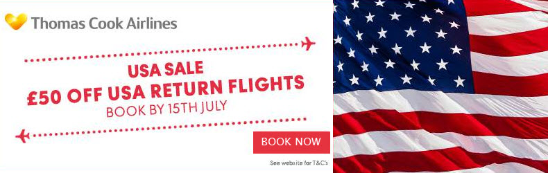 Thomas Cook Airlines USA offer