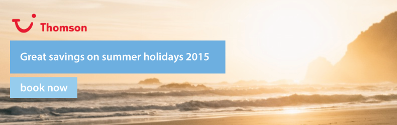Thomson summer offers 2015