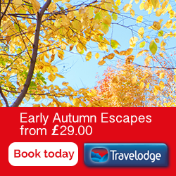 Travelodge autumn saver offers RHS