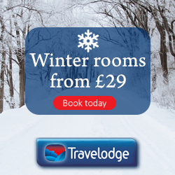 Travelodge winter breaks november