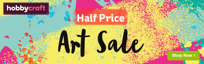 Hobbycraft August Art sale