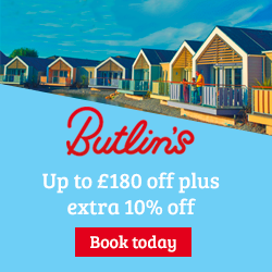 Butlins extra 10% off sale prices