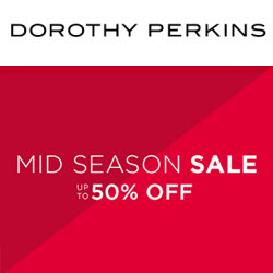 Dorothy Perkins 50% off sale