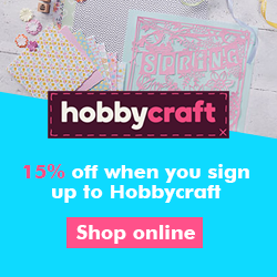 Save 15% off when you first shop with Hobbycraft
