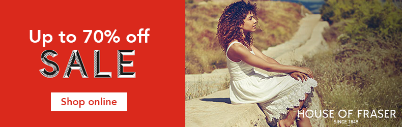 House of Fraser further reductions sale