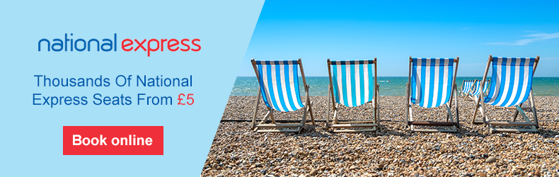 National Express summer tickets from £5