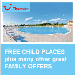 Thomson free child places