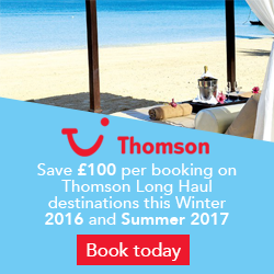 Thomson long haul holidays