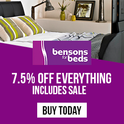 RHS Bensons for Beds 7.5 voucher