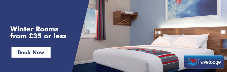 Travelodge Winter rooms
